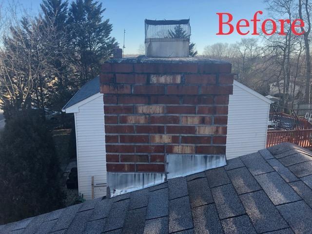 before chimney